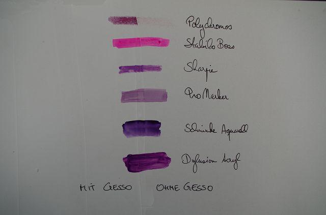Gesso Farben