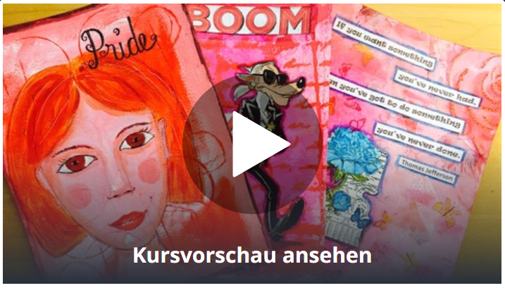 Kunstkurs Art Journaling
