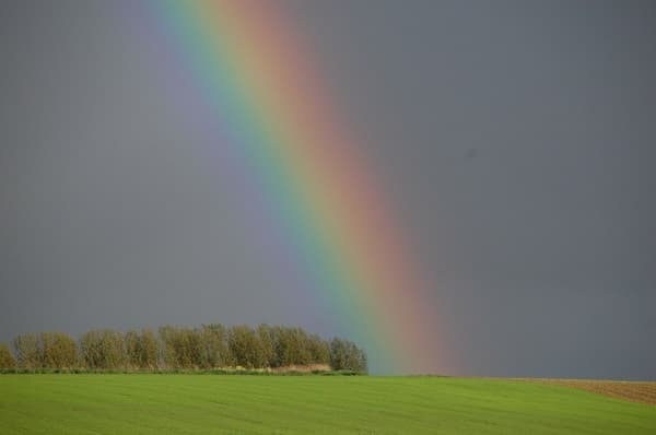 regenbogen als glückssymbol