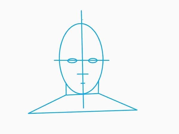 Gesichtsform-Proportionen