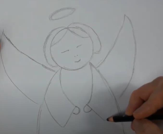 Engel zeichnen